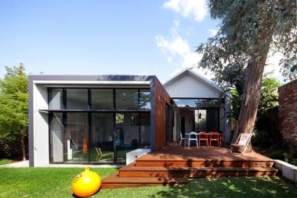combien cote une extension de maison en bois en acier et en parpaing - Combien Coute Un Agrandissement De Maison